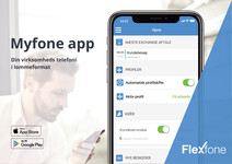 Præsentation af Myfone appen
