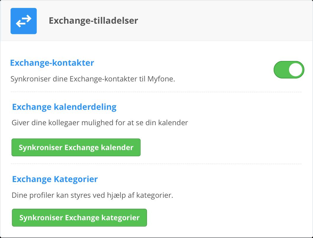 Aktivér import af kontakter på Myfone.dk