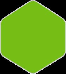 Grøn farve vises ved Ledig