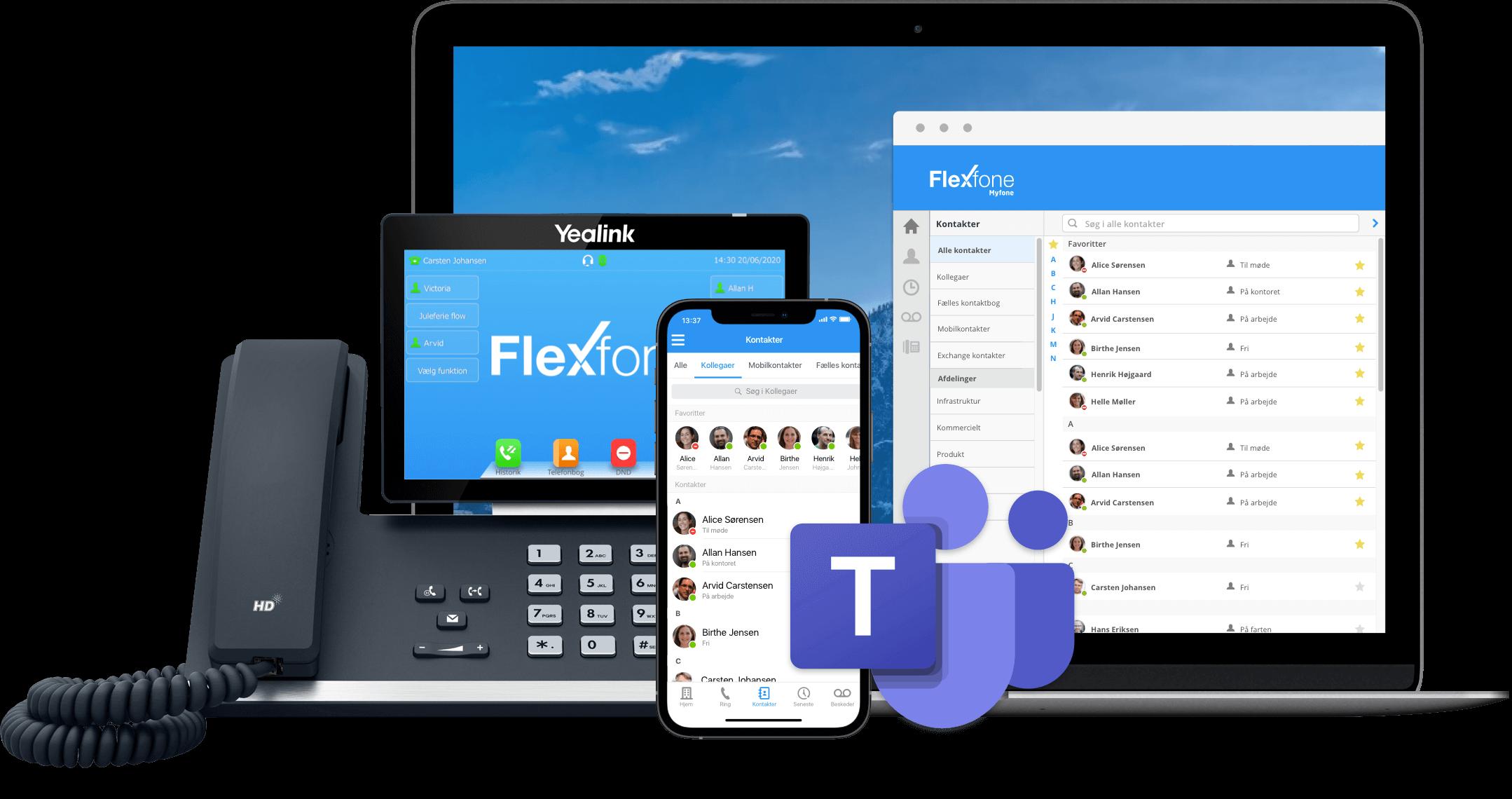 Busylight er integreret med resten af Flexfone familien